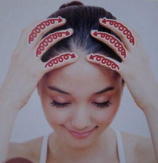 頭皮のリンパマッサージ2