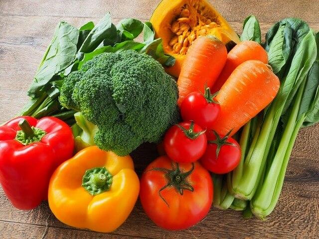 抗酸化作用食材